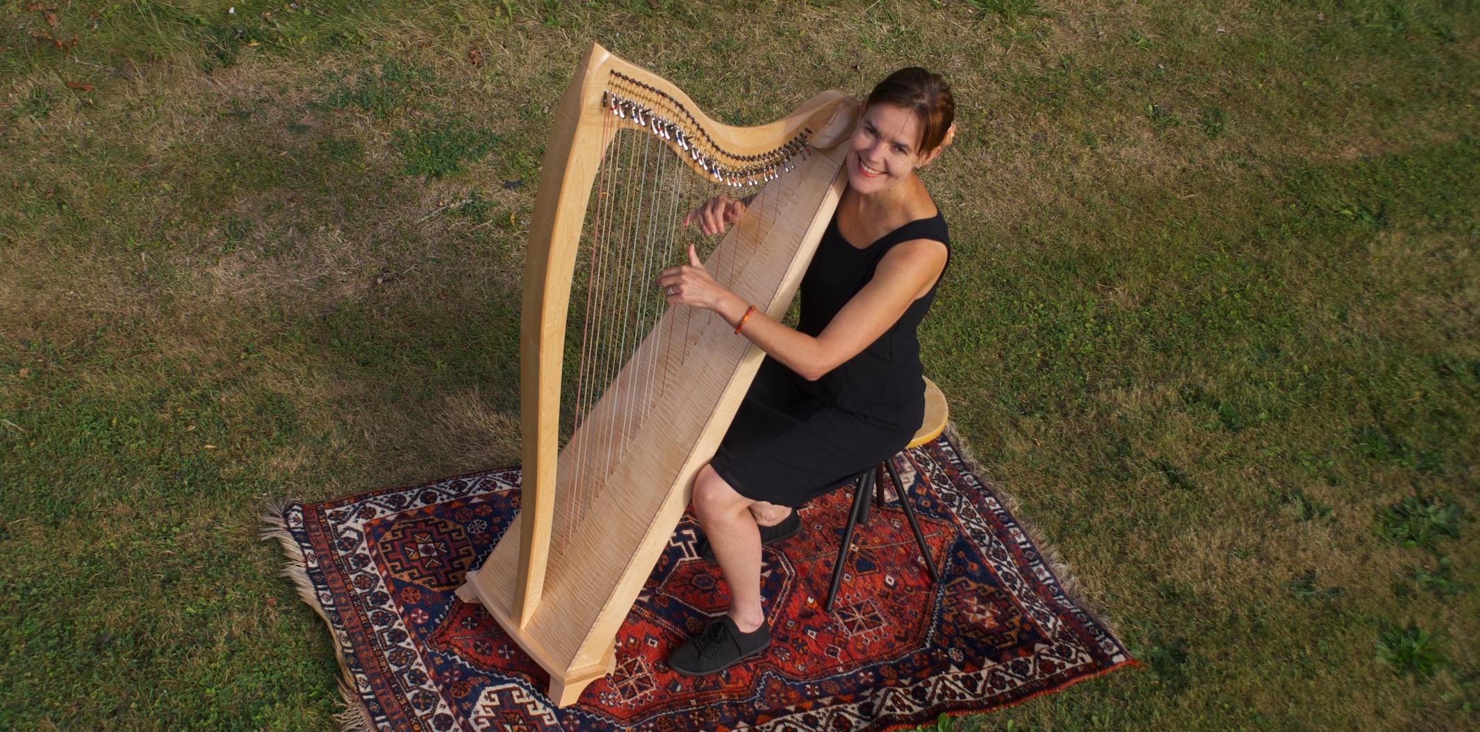 harp en yoga, yoga concert