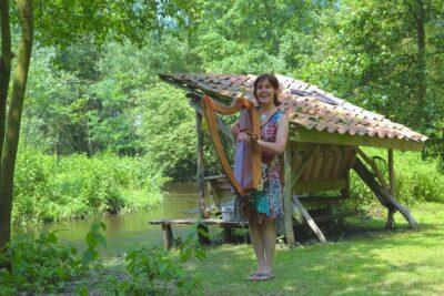 arjen bakermans, kunst, harp, locatie, evenement, arpalisa, troubadour