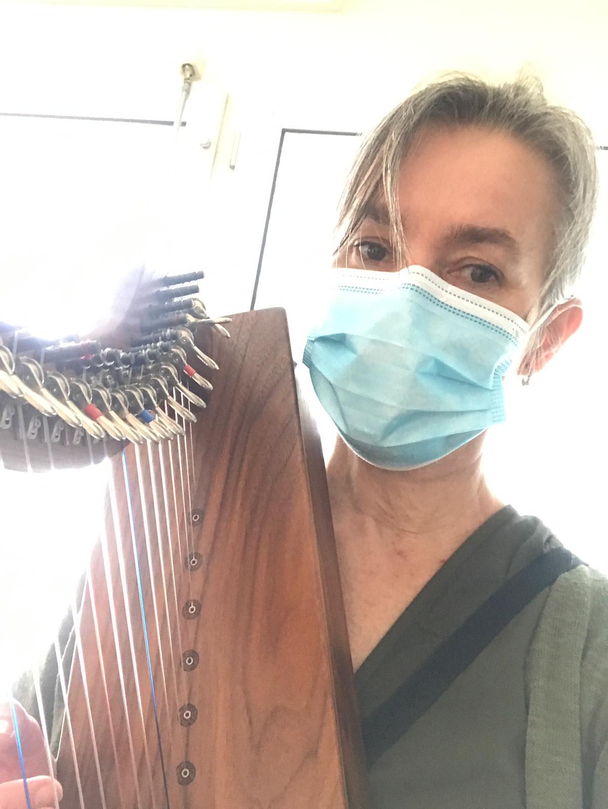 harp therapy, IC, ICU, MuzIC, harp