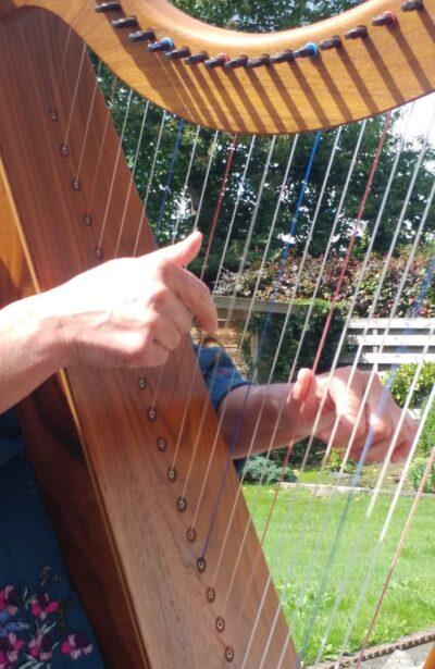 harp, zorg, welzijn, therapeutisch